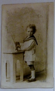 charles william langston-white, aged 3yrs 3mths