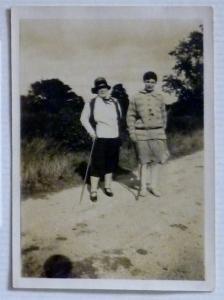 Frances White - auntie baba - and Clara Joyce Shortland
