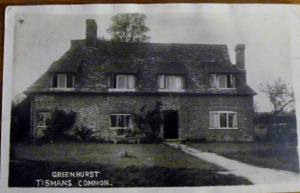 postcard of Greenhurst, nr Rudgwick