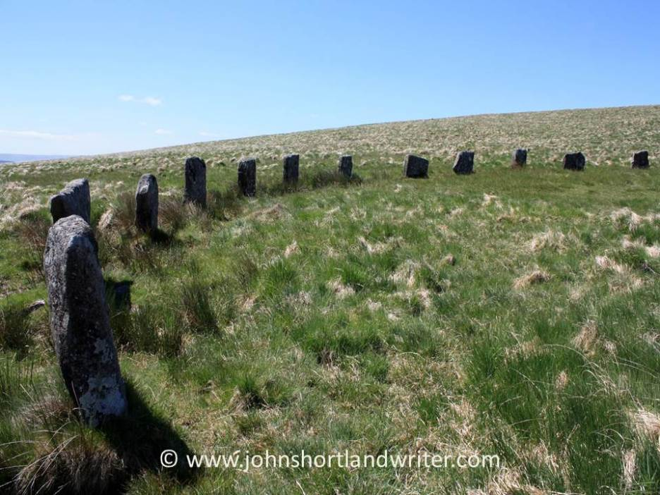 Grey Wethers Stone Circle (2)   copyright
