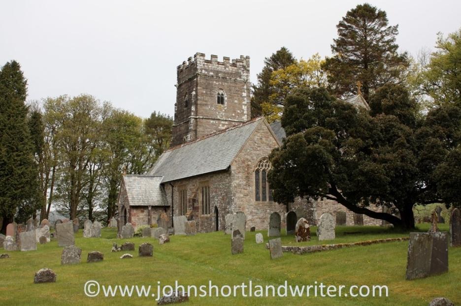Exford - St Mary Magdalene   copyright