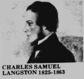 1863 LANGSTON Charles Samuel L18
