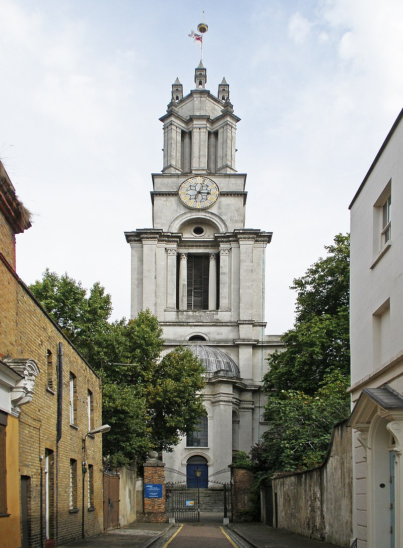 St_Anne,_Limehouse, London - copyright Amanda Slater