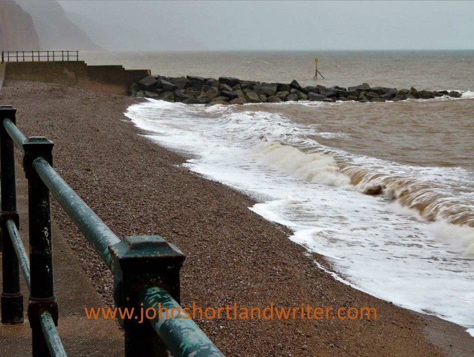 Sidmouth - waves (1) watermark