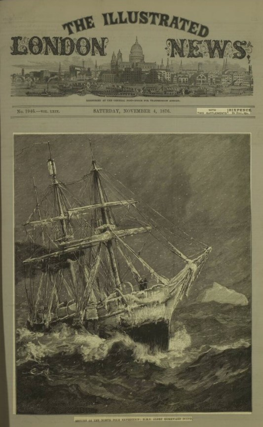 This image has an empty alt attribute; its file name is 1876-saggers-john-langston-s173-arctic-expedition-iln-5j-alert.jpg